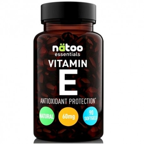 Vitamina E Natoo, Vitamin E, 90 perle