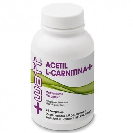 Carnitina +Watt, Acetil L-Carnitina+, 75cpr