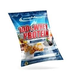 Proteine del Siero del Latte (whey) IronMaxx, 100% Whey Protein, 20 pz. da 25 g. (Sc.03/2020)