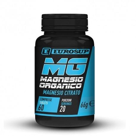 Zinco e Magnesio Eurosup, Magnesio Organico, 60Cpr.