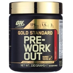 Pre Workout Optimum Nutrition, Pre-Work Out, 330 g