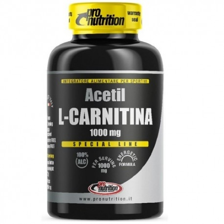 Carnitina Pro Nutrition, Acetil L-Carnitina, 60 cps.
