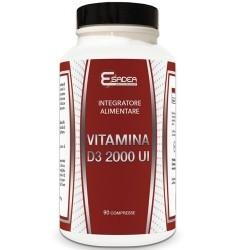 Vitamina D Esadea, Vitamina D3 2000 UI, 90 cpr