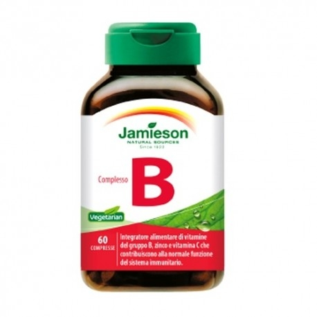 Vitamina B Jamieson, Complesso B, 60cpr.