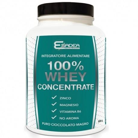Proteine del Siero del Latte (whey) Esadea, 100% Whey concentrate, 900 g