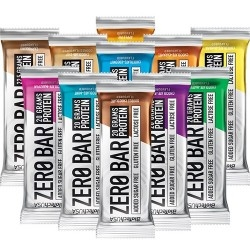 Barrette proteiche Biotech USA, Zero Bar, 20 barrette da 50 g.