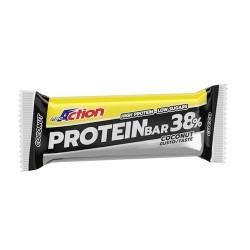 Barrette proteiche Proaction, Protein Bar 38%, 1pz. da 80g (Sc.04/12/2019)