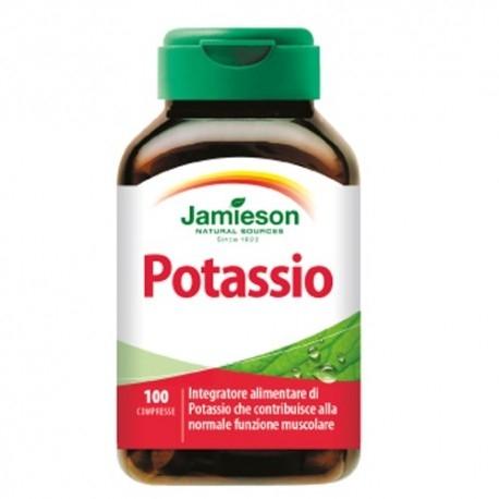 Vitamine e Minerali Jamieson, Potassio, 100cpr.