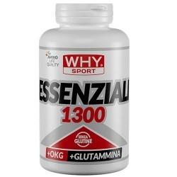 Aminoacidi essenziali WHY Sport, Essenziali 1300, 200cpr.