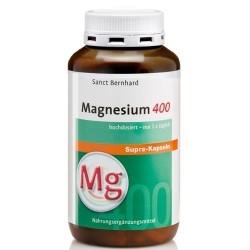 Zinco e Magnesio Sanct Bernhard, Magnesium 400 Supra, 300 cps