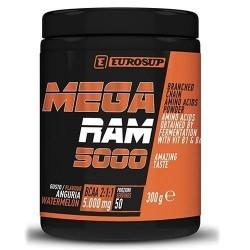 Aminoacidi Ramificati (Bcaa) Eurosup, Mega Ram 5000, 300 g