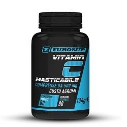 Vitamina C Eurosup, Vitamin C Masticabile, 80 cpr