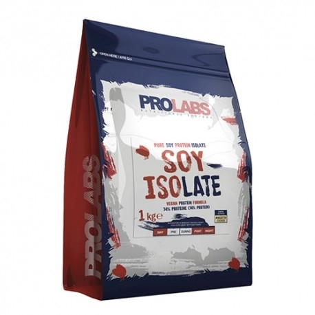 Proteine di Soia Prolabs, Soy Isolate, 1000 g