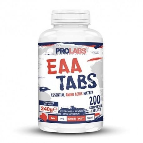 Aminoacidi essenziali Prolabs, EAA Tabs, 200 cpr
