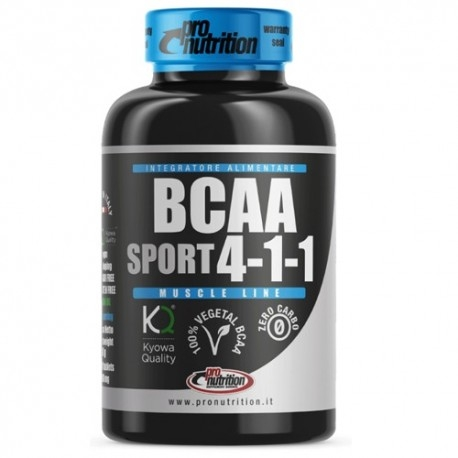 Aminoacidi Ramificati (Bcaa) Pro Nutrition, Bcaa 4:1:1, 100 cpr