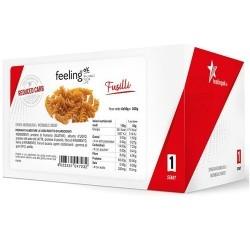 Pasti e Snack Proteici Feeling Ok, Fusilli, 300 g (6 x 50 g)