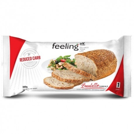 Pane e Prodotti da Forno Feeling Ok, Bauletto ai Cereali, 300 g