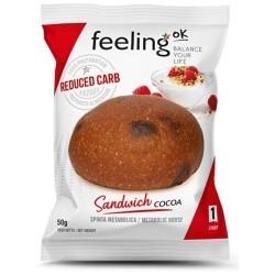 Pane e Prodotti da Forno Feeling Ok, Sandwich Cacao, 50 g