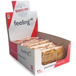 Pasti e Snack Proteici Feeling Ok, Savoiardo, 10 x 35 g
