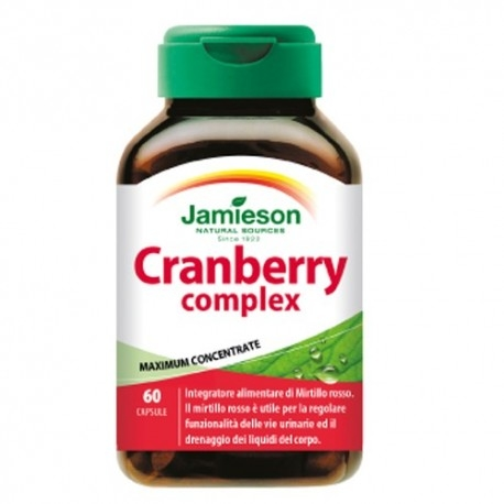 Mirtillo rosso (Cranberry) Jamieson, Cranberry Complex, 60 cps.