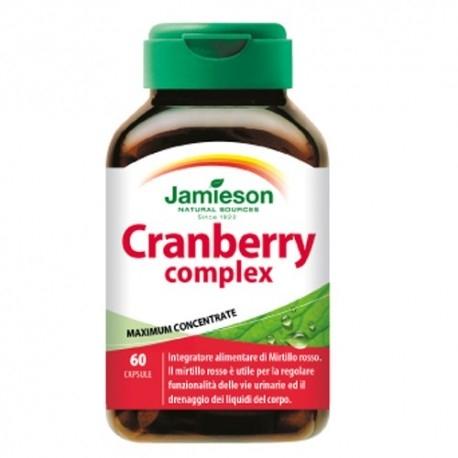 Mirtillo rosso (Cranberry) Jamieson, Cranberry Complex, 60cps.