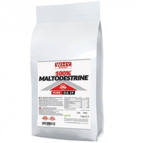 WHY Sport, 100% Maltodestrine, 1000 g.
