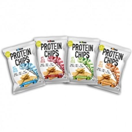 Pasti e Snack Natoo, Protein Chips, 33 g