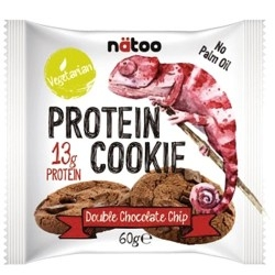 Pasti e Snack Proteici Natoo, Protein Cookie, 60 g