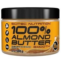 Creme alimentari Scitec Nutrition, 100% Almond Butter, 500 g
