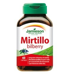 Mirtillo nero (Bilberry) Jamieson, Mirtillo Bilberry, 60 Cps.