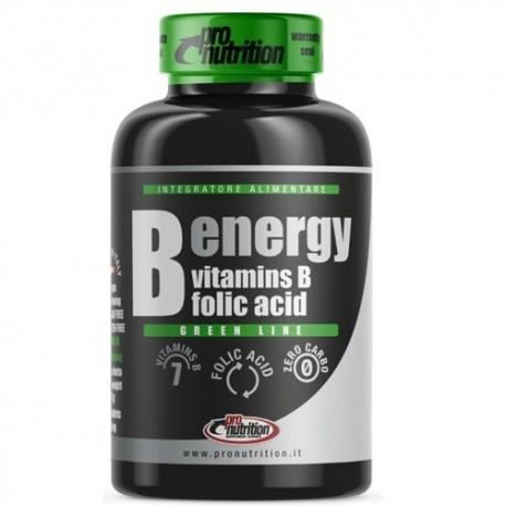 Vitamina B Pro Nutrition, B-Energy, 60 cpr.
