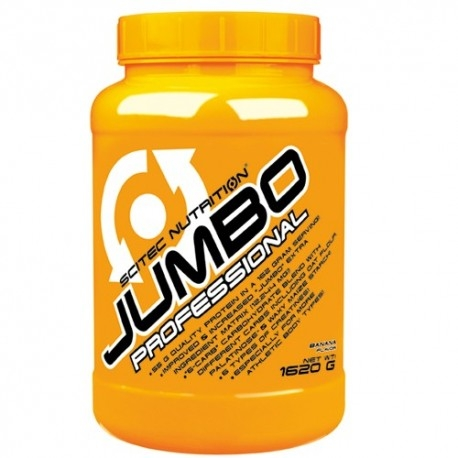 Gainers Scitec Nutrition, Jumbo Professional, 1620 g (Sc. 01/2020)