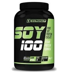 Proteine di Soia Eurosup, Soy 100, 900g. (Sc. 01/2020)