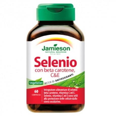 Selenio Jamieson, Selenio con Beta Carotene, 60cpr