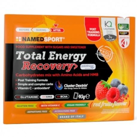 Mix Carboidrati Named Sport, Total Energy Recovery 16 pz. da 40 ml