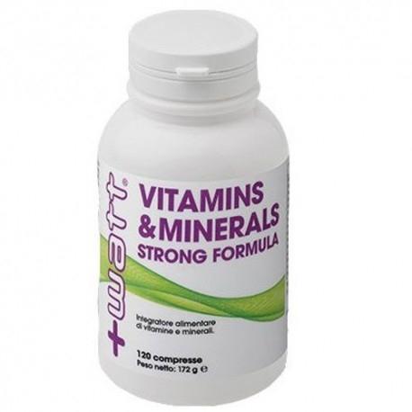 Vitamine e Minerali +Watt, Vitamins & Minerals, 120 cpr.