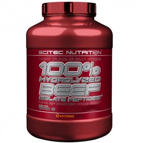 Proteine della carne Scitec Nutrition, 100% Hydrolyzed Beef isolate peptides, 1800 g.