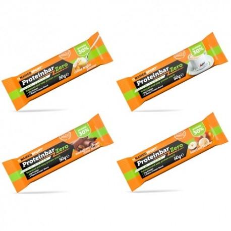 Barrette proteiche Named Sport, Protein Bar Zero, 12 pz. da 50 g.