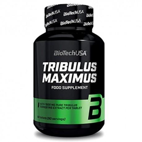 Tribulus Terrestris Biotech Usa, Tribulus Maximus Extra, 90 cpr