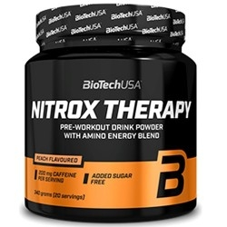 Pre Workout Biotech Usa, Nitrox Therapy, 340 g