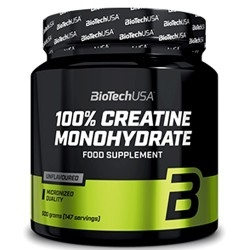 Creatina Biotech Usa, Creatine Monohydrate, 500 g.