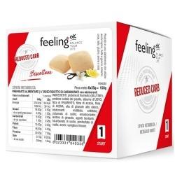 Biscotti e Dolci Feeling Ok, Biscottone, 6 x 25 g (150 g)
