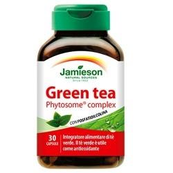 Tè verde Jamieson, Green tea, 30cps.