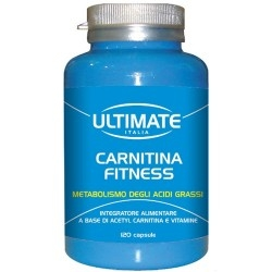 Carnitina Ultimate Italia, Carnitina Fitness, 120 cps.