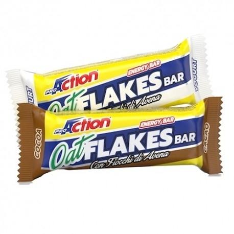 Barrette energetiche Proaction, Oat Flakes Bar, 50 g.