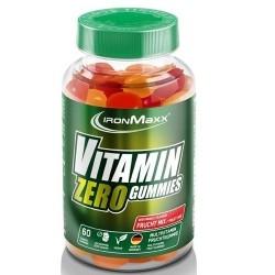 Scadenza Ravvicinata IronMaxx, Vitamin Zero Gummies, 60 caramelle (Sc.07/2021)