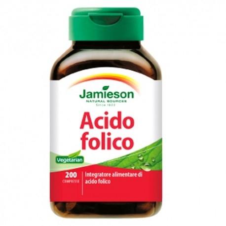 Acido folico (Folato) Jamieson, Acido Folico, 200cpr.