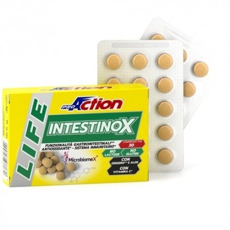 Scadenza Ravvicinata Proaction, Life Intestinox, 30 cpr. (Sc.07/2021)