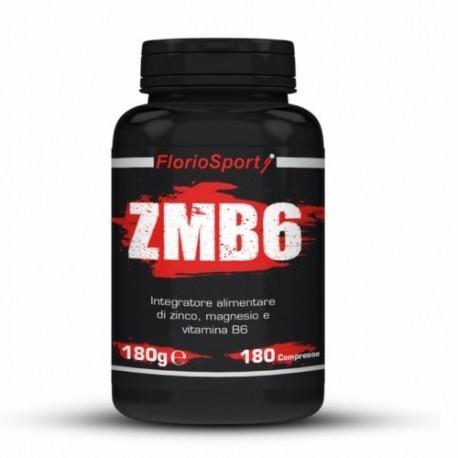 Zinco e Magnesio FlorioSport, ZMB6, 180 cpr.