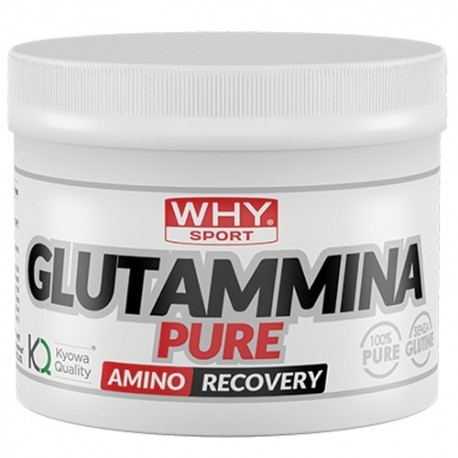 Glutammina WHY Sport, Glutammina, 250 g.